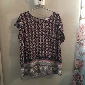 Cozy  Kenar woman from Nordstrom  sweet blouse